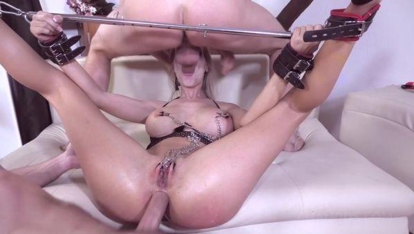LegalP0rno: Florane Russell - Hardcore BDSM Fucking for Florane Russell (DP, Balls Deep, Punishment, Bondage) NF018 (SD/480p)