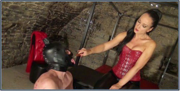Ashtray Slave Serving His Mistress Femdom