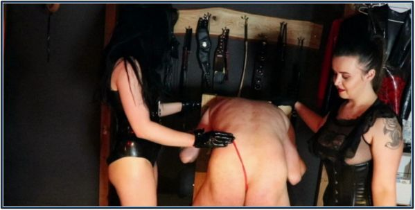 Torture With Nettles Femdom