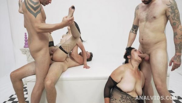Francesca Palma - Mother Vs Daughter generation Battle with Balls Deep Anal, Gapes, DP, Crempie and Swallow GL250 [HD 720p] (LegalP0rno)
