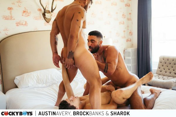 CB - Austin Avery, Brock Banks & Sharok