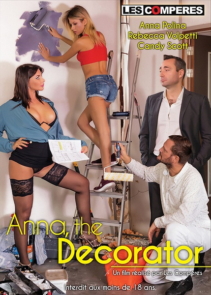 Anna The Decorator - Anna la decoratrice (Year 2020) (HD Rip 720p) Cover