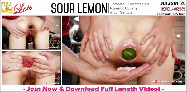 Extremelatina - Sour Lemon - EXL-055 (25.07.2020) with Lois (FullHD/1080p) [2020]
