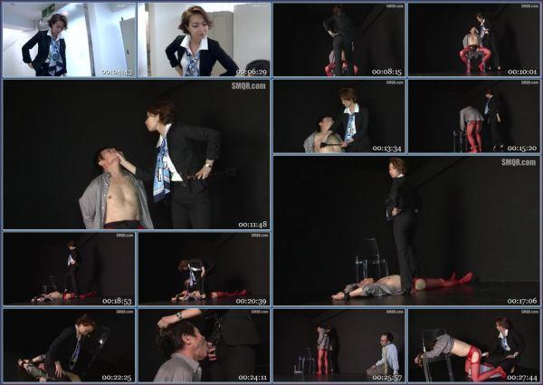 QRDA-099 A Pitiful Maso Business Man And His Filthy Love Affair - Naomi Maki JAV Femdom