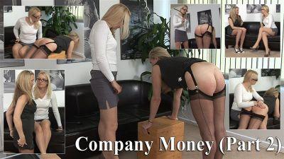 SpankedCheeks – Company Money (part 2) – Andi's Punishment