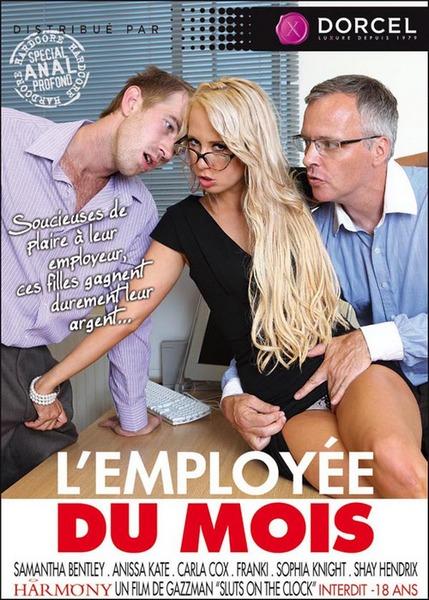 L`employee Du Mois - L`employee Du Mois - Sluts On The Clock (Year 2012) Cover
