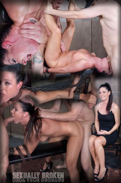 India Summer - India Summer's Recorded Live feed from May: Brutal bondage, fucking and deepthroating! (HD 720p)