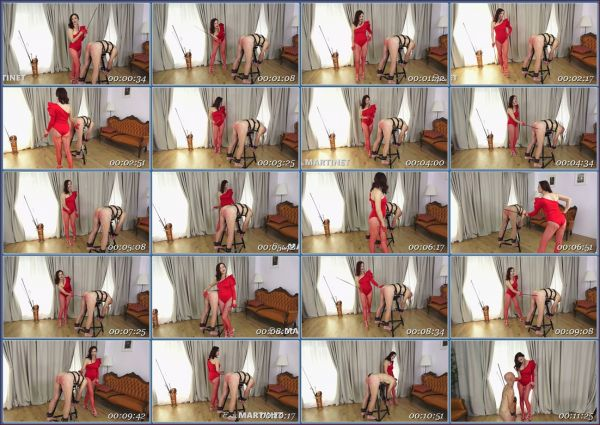 Red Caning 2 Femdom