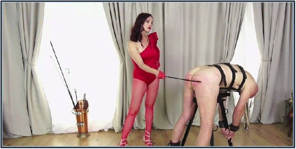 Red Caning 1 Femdom