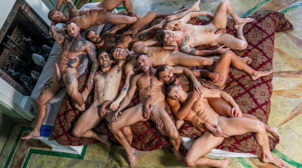LE - Belvedere Breeding Orgy Part 01