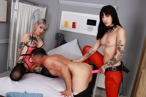 Trans: Charlotte Sartre, Lena Kelly - Tranformation Clinic Part 2 [FullHD/1080p]