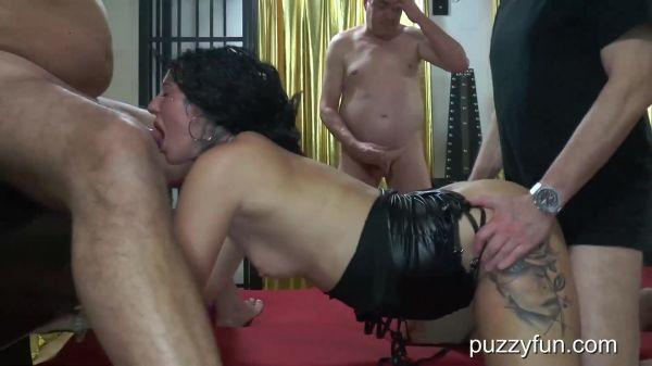 Jessy Jay - Jessy Jay, the horny bitch fucked again, inseminated and splash the mouth full (14.08.2020) [FullHD 1080p] (Puzzyfun)