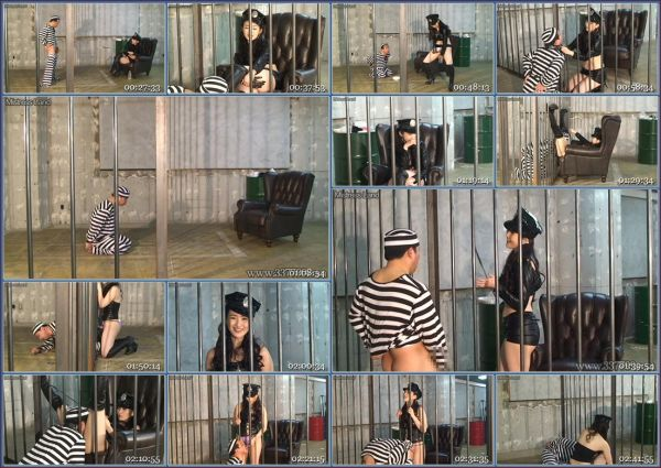 MLDO-139 A Prisoner Is Dominated By A Woman Guard In Hunger And Ejaculation Management JAV Femdom
