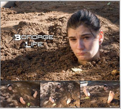 Bondage Life – Buried and Tickled – Greyhound, Cassandra Crimson