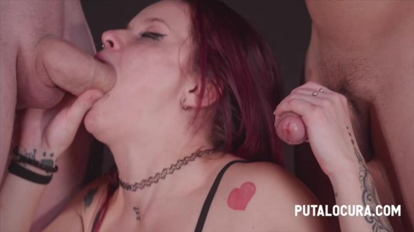 Vicious - Putalocura - Two dicks in her mouth (27.08.2020) (HD 720p) [2020]
