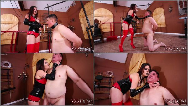 Slapped For Disobedience [ClubDom] Raquel Roper (499 MB)
