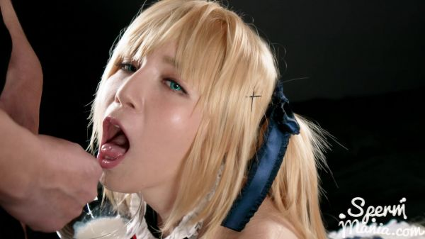 Mary  - Mary Uses A Group of Guys Cum For One Messy Handjob (28.08.2020) [FullHD 1080p] (Asian)