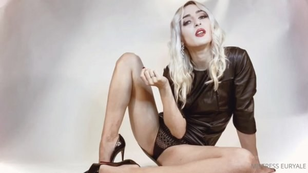 Mistress Euryale - Sissy Tasks JOI CEI Blackmail