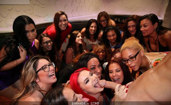 Becky Bang, Celine Alvarez, Crystal Rain, Destiny Sin - Credited: Destiny), Karlee Grey, Kiana, RedExxxotica, Steph Kegels, Unknown Female