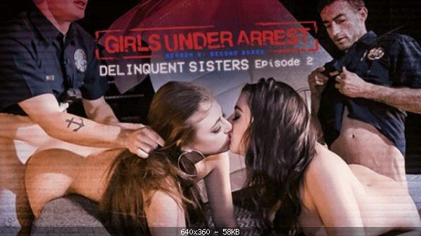 Gia Derza, Whitney Wright - Delinquent Sisters