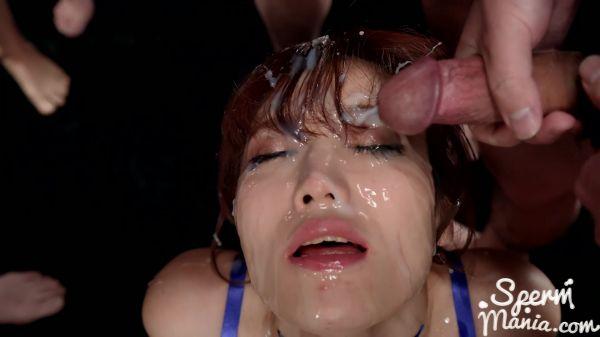 Mizuki - Mizuki's Sticky Bukkake Facial (04.09.2020) [FullHD 1080p] (Bukkake)