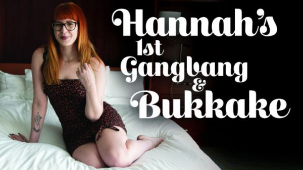 TexxxasBukkake  - Hannah's First Gangbang & Bukkake (02.09.2020) [FullHD 1080p] (Bukkake )