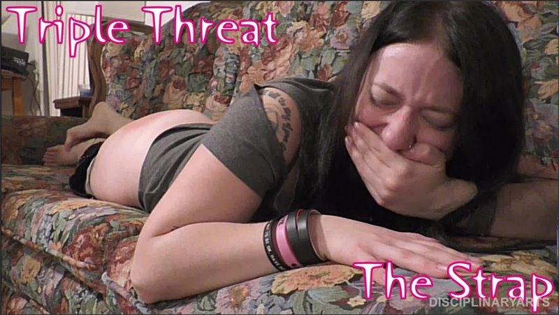 DisciplinaryArts – Triple Threat The Strap