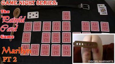 DisciplinaryArts – The Painful Card Game – Marilyn Part 2