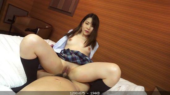 Japan Uniform sex vaginal cum shot with a sex-loving Bangya girl who has been va
