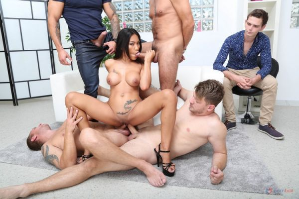 LegalP0rno: Polly Pons - Cuckold Dream with Polly Pons, 4on1 Balls Deep Anal, DAP, Gapes and Facial GIO1604 (HD/720p)