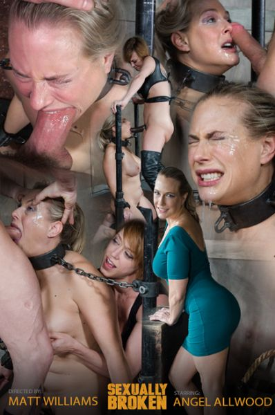 Angel Allwood - Angel Allwood is neck bound on a Sybian and throat fucked while violently cumming over and over! [SexuallyBroken.com / HD 720p]