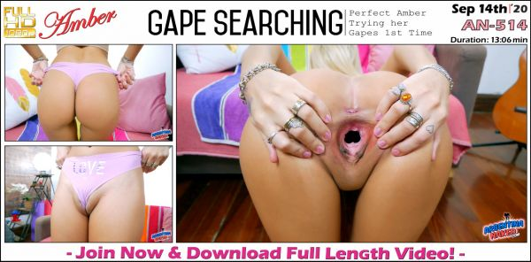 Amber - Gape Searching - AN-514 (14.09.2020) [FullHD 1080p] (Argentinanaked)
