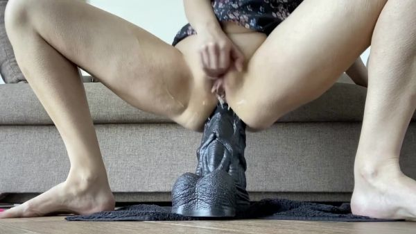 Nikoletta_Joy  - Dildo - my ass is sitting on a huge sea horse di (24.09.2020) (FullHD 1080p) [2020]