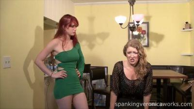 SpankingVeronicaWorks – Pop Star Spanking Pt. 2 – Veronica Ricci, Tracie Skye