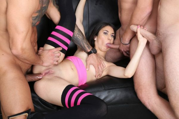 Francesca Palma - LegalP0rno - Francesca Palma 4on1 Balls Deep Anal, DP, Gapes and Swallow GIO1620 (HD 720p) [2020]