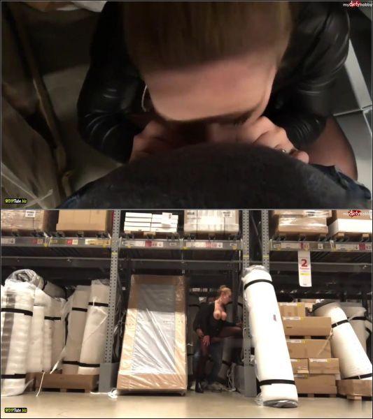 devil-sophie - Public FIck mich im Mobelhaus - Die Leute und der Einkauf sind mir egal [HD 720p] (MDH)