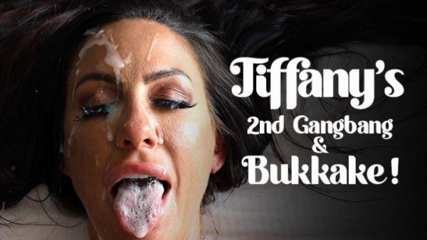 TexxxasBukkake  - Tiffany Brookes - 2nd Gangbang & Bukkake (19.10.2020) [FullHD 1080p] (Bukkake)