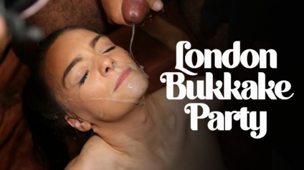 TexxxasBukkake  - London Bukkake Party (22.10.2020) [FullHD 1080p] (Bukkake)