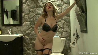 Jerk off, you're My Piss slut – Mistress T