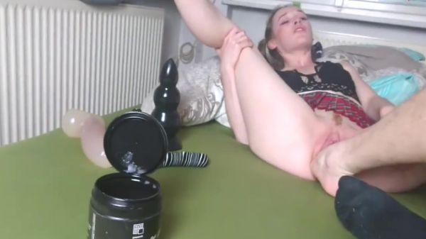 Lucida  - Foot fucking her slack hole (19.10.2020) (HD/2020) by Sicflics