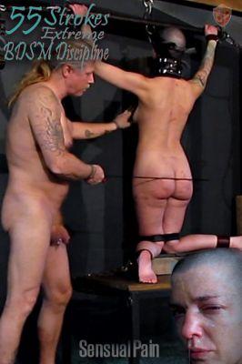 SensualPain – Oct 25, 2020: 55 Strokes Extreme BDSM Discipline | Abigail Dupree