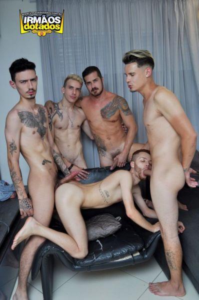 ID - Bryan CowBoy, Rick Paixao, Domus, Ed and Thiago Albuquerque - GANGBANG