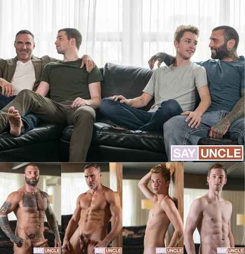 TwinkTrade - StepDad's Trade - Markus Kage, Jake, Thyle Knoxx & Manuel Skye