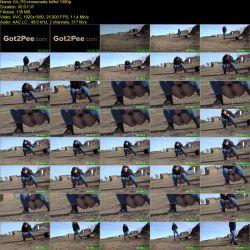 She pee at the crossroads (FullHD 1080p)