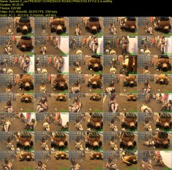 Present Horseback Riding Princess Style II - PART 1 (SD 480p)