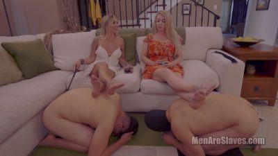 Men Are Slaves – Typical Girls Night, Part 1 – Sorceress Bebe, Mistress Kayla