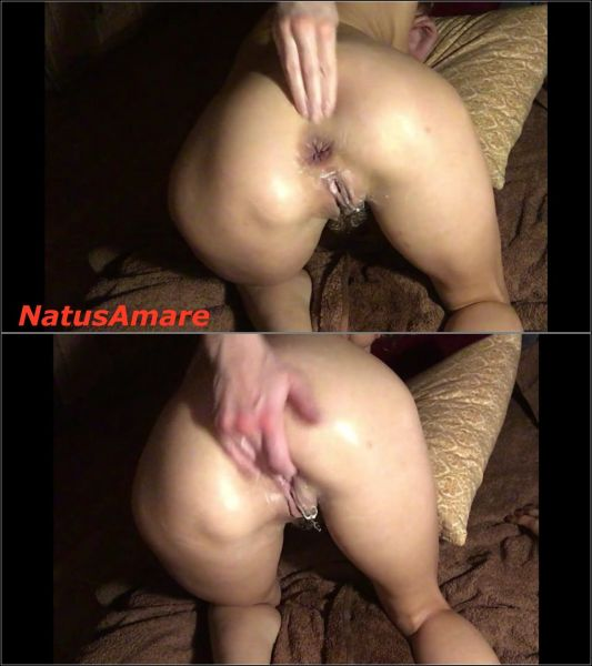 NatusAmare  - Anal Games with Self-fisting, Squirting and Prolapse (FullHD/2020) by Anal Fisting
