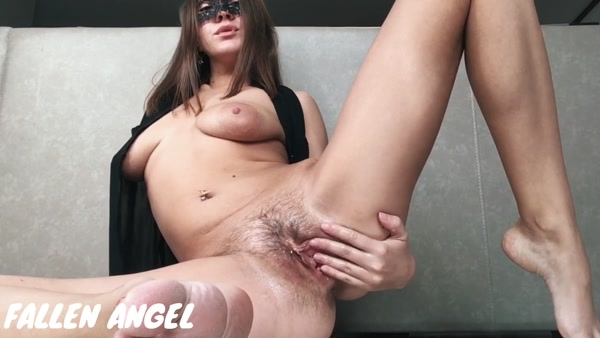 My Oiled HAIRY Pussy Gets Hard FISTING - Stretched Gaping Vagina (FullHD 1080p)
