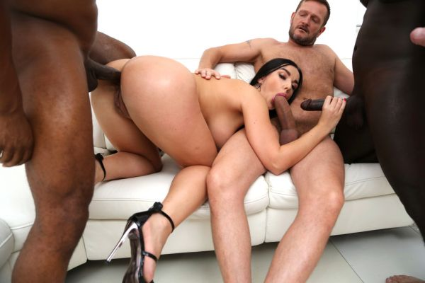 Lady Gang - LegalP0rno - Lady Gang hardcore DP and DAP with huge cocks SZ2507 (HD 720p) [2020]