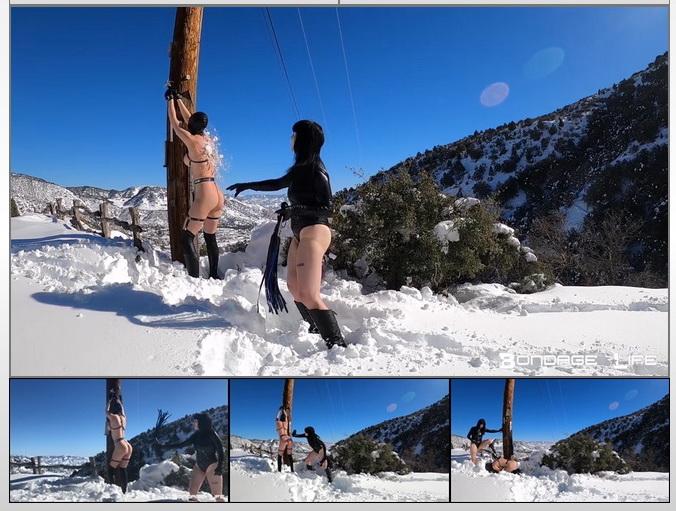 Bondage Life – Winter Wonderland Flogging – Rachel Greyhound, Lita Lecherous